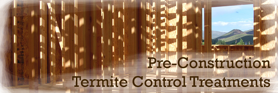 Pre Construction Termite Control Treatments